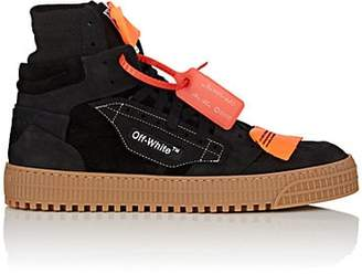 Off-White Men's 3.0 Nubuck & Suede Sneakers - Black