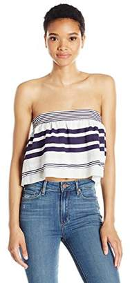 Finders Keepers findersKEEPERS Women's Mason Strapless Crop