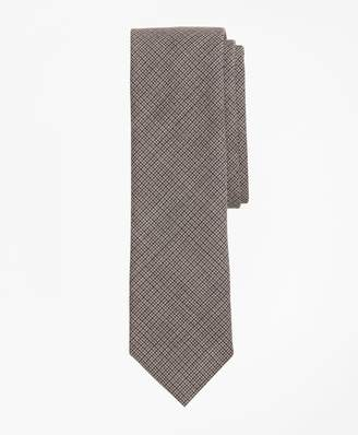 Brooks Brothers Multi-Check Wool Tie