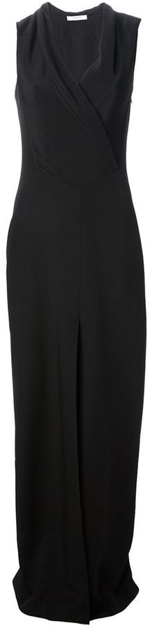 Givenchy sleeveless silk evening dress