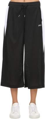Fila Urban Richelle Logo Embroidered Mesh Pants