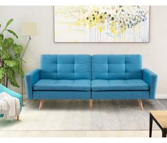 Harper&Bright Designs Harper & Bright Designs Entertainment Upholstered Futon Sofa Bed, Multiple Colors