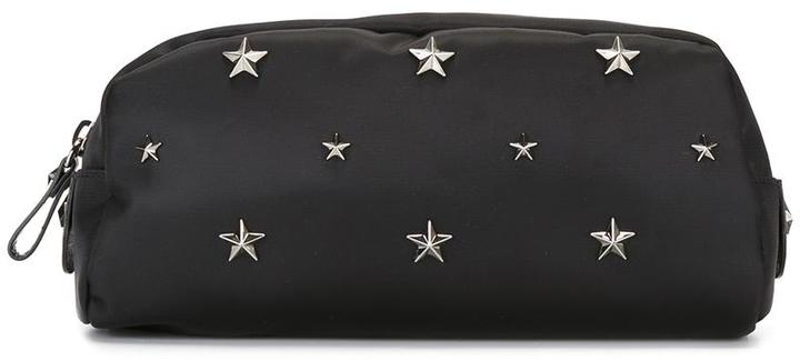 RED Valentino Red Valentino star studded makeup bag