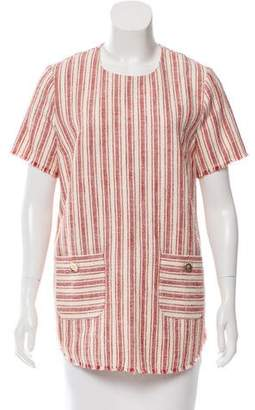 Rachel Zoe Striped Tweed Tunic