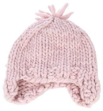 Pip-Squeak Chapeau Chunky Cable Knit Beanie