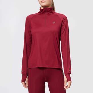 Asics Women's Thermopolis Long Sleeve 1/2 Zip Top