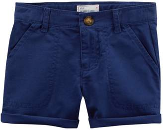 Carter's Girls 4-8 Roll Cuff Shorts