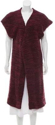 Alice + Olivia Sleeveless Wool-Blend Vest w/ Tags