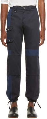 Jacquemus SSENSE Exclusive Navy Le Pantalon Gadjo Workwear Trousers