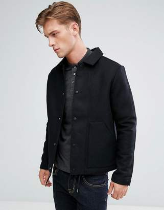 Bellfield Wool Blend Coach Jacket