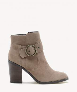 Sole Society Grove Circle Buckle Bootie