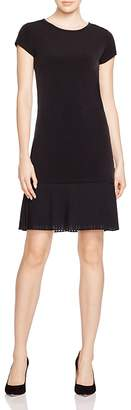MICHAEL Michael Kors Pleat Hem Shift Dress