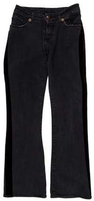 Just Cavalli Mid-Rise Flared Jeans