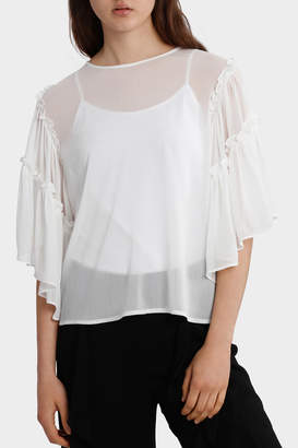 Top Full Sleeve with all over Lace back