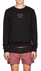 Saturdays NYC Men's Gotham Cotton Terry Sweatshirt-Black