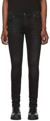 Amiri Black Stack Jeans