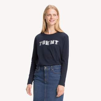 19953dc8 Tommy Hilfiger Relaxed Fit 3D Logo Long Sleeve T-Shirt