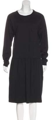 Base Range Midi Jersey Dress w/ Tags