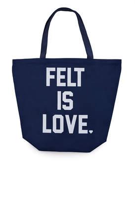 Felt Is Love Tote