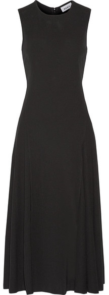 DKNY - Stretch-crepe Midi Dress - Black