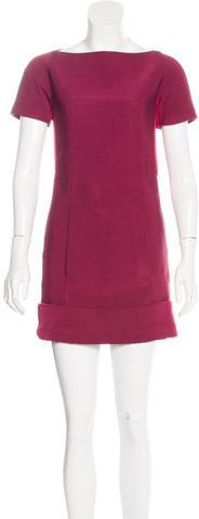 Marc JacobsMarc Jacobs Short Sleeve Mini Dress