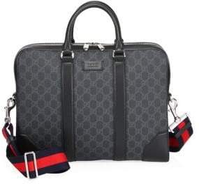 Gucci GG Leather Briefcase