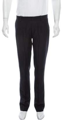 Theory Wool & Linen Blend Pants