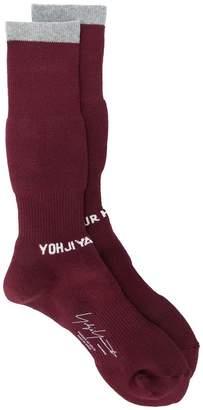 Yohji Yamamoto branded socksri