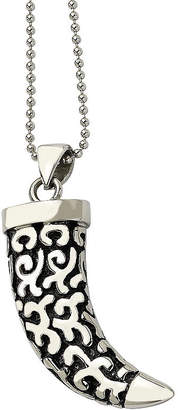 FINE JEWELRY Mens Stainless Steel Antiqued Fancy Claw Pendant
