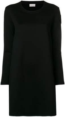Moncler contrast back jersey dress