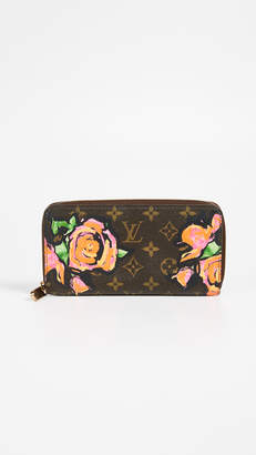 Louis Vuitton What Goes Around Comes Around Roses Zippy Wallet