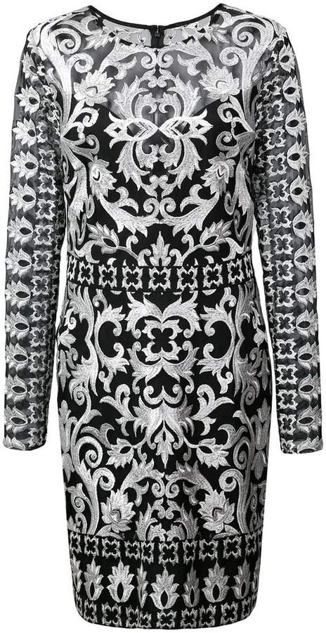 Buy short embroidered dress!