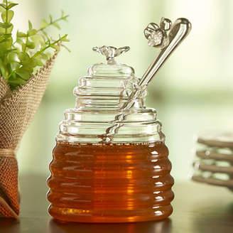 Birch Lane Hive Honey Pot and Dipper Storage Jar