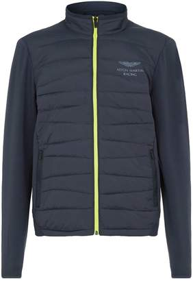 Hackett Aston Martin Quilted Front Jacket