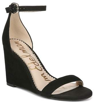 467ea323232 Sam Edelman Black Wedge Heel Women s Sandals - ShopStyle