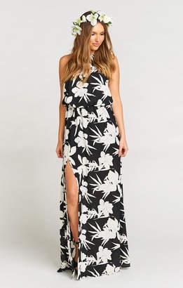 Show Me Your Mumu Heather Halter Dress ~ Lily Collins