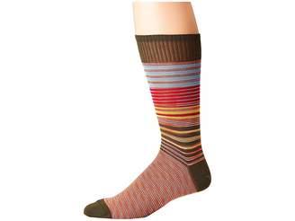Missoni Striped Socks Men's Crew Cut Socks Shoes