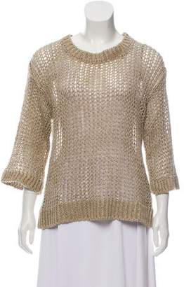 Isabel Marant Linen Perforated Sweater
