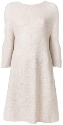 N.Peal bell sleeve sweater dress