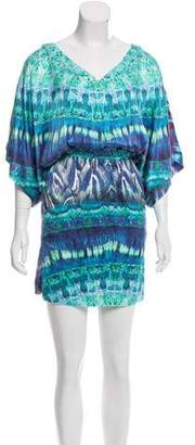 Twelfth Street By Cynthia Vincent Printed Mini Dress