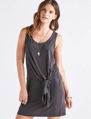 Lucky Brand SANDWASH TIE DRESS