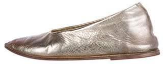 Marsèll Metallic Slip-On Sneakers