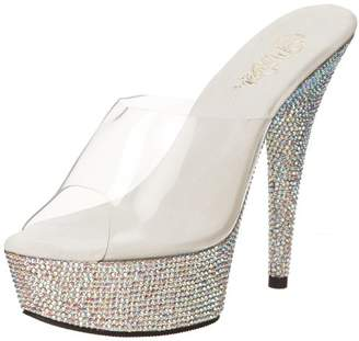 Pleaser USA Women's Bejeweled-601DM Platform Sandal