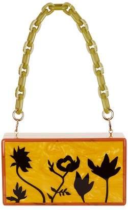 Edie Parker Jean Floral Silhouettes Clutch Bag