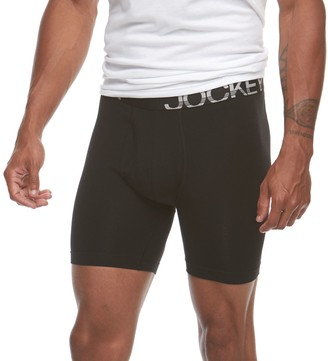 Jockey Big & Tall 2-pack Big Man Active Stretch Midway Briefs