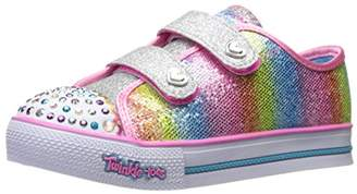Skechers Girls' Step Up - Sparkle Kicks Trainers