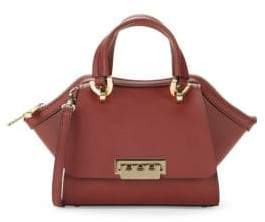 Zac Posen Eartha Top Zip Leather Satchel