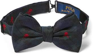 Ralph Lauren Tartan Silk Bow Tie