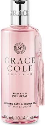 Grace Cole Wild Fig and Pink Cedar Bath and Shower Gel