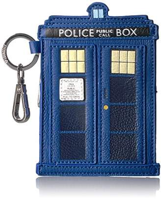 Loungefly Women's Dw Tardis Coin Bag Purse